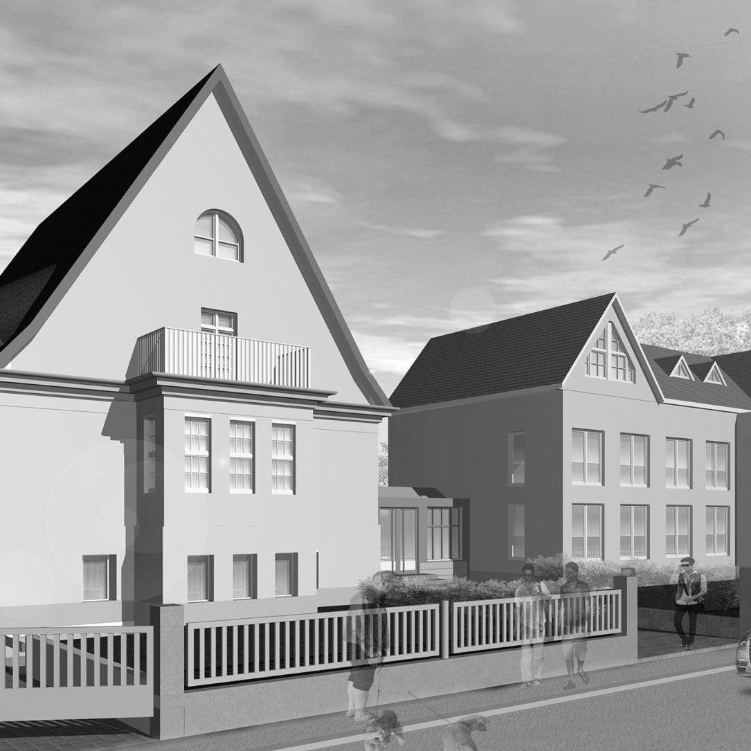 Umbau Verwaltungsgebäude Schellendorfstr., 1. BA Komplexmaßnahme